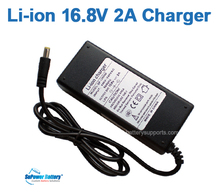 SuPower Li-ion Li-Po 4S 14.4V 14.8V 16.8V 2A Lithium Li-Poly Wall Socket Battery Pack Charger auto-stop AC DC Power Supply