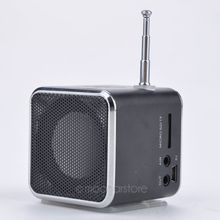 TD-V26 Portable Micro SD TF USB Mini Speaker Music Player Portable FM Radio Stereo mp3 phone Laptop MP3 MP4 Player Speaker