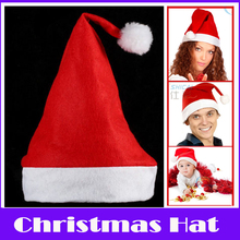 Merry Christmas!6 PCS/lot Children Adult Christmas Hats Xmas Crafts Santa Claus Cap Natal Party Dress up Hat Headdress Gift