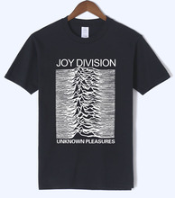 Buy 2018 summer men's T-shirts Joy Division Unknown Pleasure punk fashion T-shirt rock hipster streetwear t shirt men top crossfit for $6.49 in AliExpress store