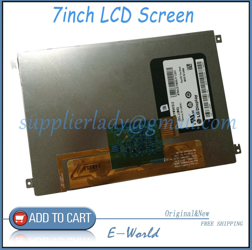 Original and New 7inch LCD screen LD070WS2-SL06 LD070WS2(SL)(06) LD070WS2 for tablet pc free shipping<br><br>Aliexpress