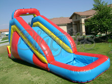 FREE SHIPPING BY SEA Hot Sell PVC Commercial Inflatable Slide Inflatable Water Slide(China)