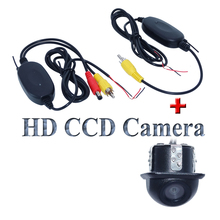Wireless  receiving and transmitting with 170 wide viewing angle car rear and front camera bring higest night vision universal