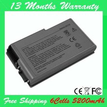 [Special Price] New laptop battery for DELL Inspiron 600M 510M 500M D500 D505 D510 D520 D600 D610 4P894 9X821 BAT1194 C1295
