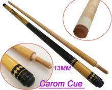 Free Shipping 13mm Cue Tip COSSMY Carom Cues 1/2 Center Joint Carom Billiards Cue Stick  Pool Billiard Accessories