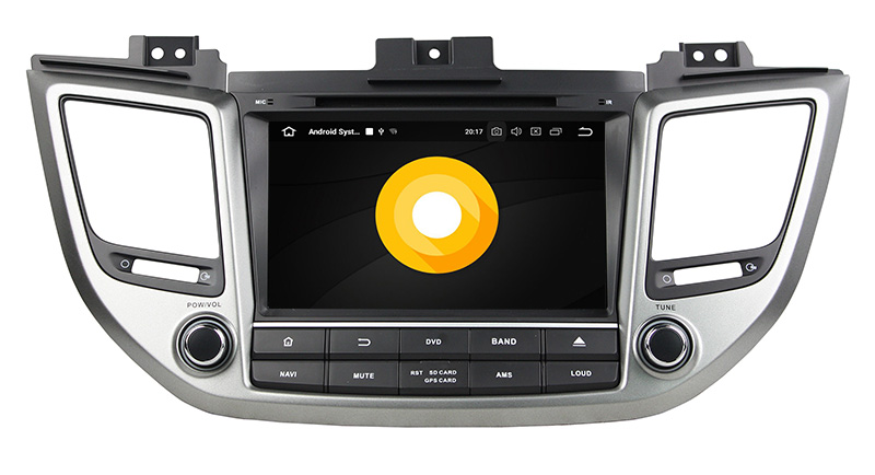 hyundai tucson ix35 stereo upgrade android 8.0 head unit navigation 1