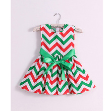 new 2017 brand fashion cotton print girl dress baby girls princess dresses kids dress children clothes vestidos infantis(China)