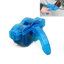 Portable Bicycle Chain Cleaner,Bike Clean Machine Brushes Scrubber Wash Tool, Mountain Cycling Cleaning Kit Outdoor Sports