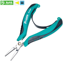 PM-396H flat nose plier AISI 420 stainless steel No teeth Flat - nose pliers Flat mouth pliers