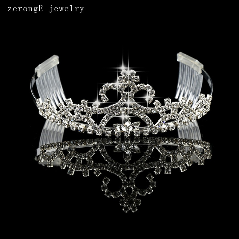 Free-shipping-prom-silver-flower-birthday-crown-for-adults-crystal-girls-bridal-wedding-tiara-crowns-for