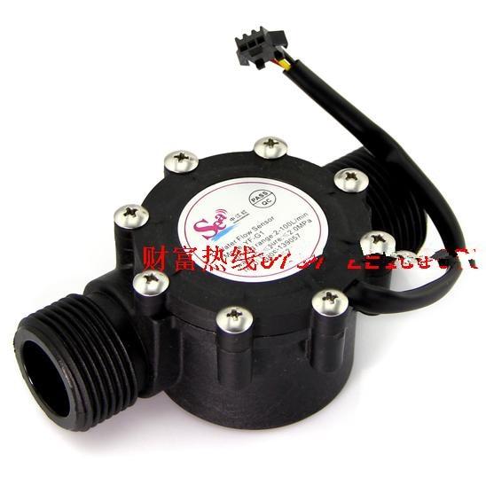 DN25 pipe G1 Flow range 2-100L/min water flow sensor Hall sensor heater Accessories Water Flow Meter<br><br>Aliexpress