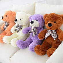 High Quality1pcs Plush toys large size teddy bear 4 colors embrace bear doll /lovers/christmas gifts birthday gift