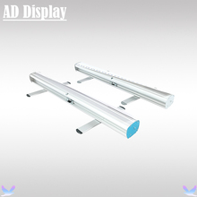 10PCS 85*200cm New Economic Model Aluminum Roller Up Display Banner Stand,Portable Advertising Promotional Pull Up Display Stand