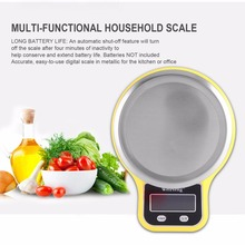 Electronic Digital Kitchen Food Scale 0.1g-3kg with White Backlight & Bowl LCD Display for Baking Cooking Dieters Hot New(China)