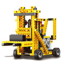 290PCS Puzzle Teaching Aids Sets of Building Blocks Children 's Toys Pinata Power Machinery Electronic Building Blocks oyuncak