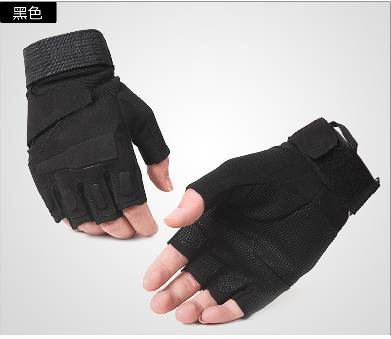 Half Finger male Army fans outdoor climbing cut-resistant gloves special forces fighting<br><br>Aliexpress