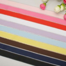 NEW 10colors mixed 1'25mm silver wire edged grosgrain ribbons,each 1 yard  set GSW025010  Free Shipping