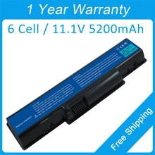 New 5200mah laptop battery for acer EasyNote  TJ67 TJ68 TR83 TJ71 TJ72 TR85 TJ73 TJ74 AS09A41 AS09A51AS09A90 MS2274