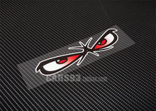 new! motorcycle stickers bad boy eyes NO fear  decals car sticker  car styling reflective vinyl snowboard surf scooter