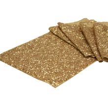30* 275 cm / 30*180cm High-grade Gold Silver Sequin Table Runner Wedding Sparkly Bling Wedding Party Decoration V20(China)