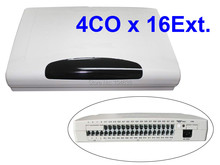 Advanced telephone PABX system / office phone system / telephone switch CP416 (4 Phone lines and 16 Extensions )(China)