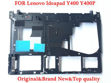 Original laptop cover FOR Lenovo Ideapad Y400 Y410P Bottom case AP0RQ00070 Black Brand new Working perfect