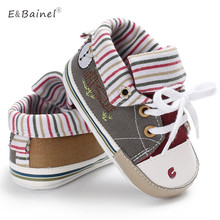 Baby Shoes Boys Girl High Top Shoe Infant Newborn Casual Canvas Prewalker Children Booties Kids Boots Bebe Sapatos Sport Sneaker(China)
