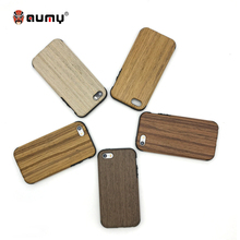 AUMY for iPhone 5 Case Soft TPU Silicone Wood Wooden Texture Best Cover luxury for iphone 5 5S SE Case Coque bumper accessories(China)