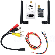 Newest  5.8G 200mW 32 CH TS5823 Transmitter + RC932 Receiver 7-30V DC Input for FPV Wifi Aerial Photo Car Video Backview System