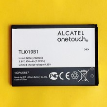 Original Battery Li019B1 For Alcatel one touch OT 991 991D 992D 916D 6010 TLi019B2 CAB1900003C2 Li-ion Batterie in stock 1900mAh