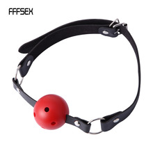 Buy FFFSEX Sexy Lingerie Hot Erotic Erotic Toys Ball Open Mouth Gag Sex Bondage Mouth Stuffed Adult Mouth Ball Exotic Accessories
