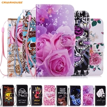 Leather phone Case for Samsung Galaxy J1 J3 J5 J7 2016 A3 A5 2017 A8 2018 Core Prime Grand G531 S5 S6 S7 edge S8 Plus Funda Skin(China)