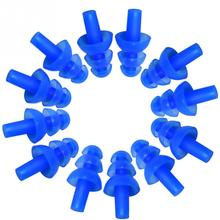 6 Pair Waterproof Swimming Silicone Swim Earplugs for Adult Swimmers Children Diving Soft Anti-Noise Ear Plug(China)