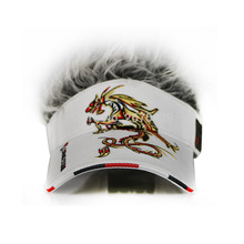 Dragon Fake Hair Golf Cap men Hat wig/hair UV Sun Hat/Cap golf hat baseball cap wholesale2016 new style Free Shipping