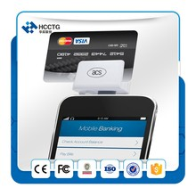 Reasonable Price Audio Jack Powerful Mobile Smart Bank Card Reader, Mini Credit Card Reading Terminal ACR31