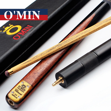 O'Min Handmade 3/4 Jointed Snooker Cues Sticks Climax Model With 3 4 Snooker Cue Case Set 9.8mm Tips