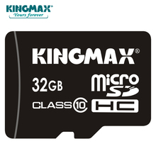 KINGMAX Full real Capacity micro sd card 32GB class 10 microSDHC Memory Card for Sport camera and mobile phone and PAD