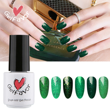 Gelfavor Green Diamond Series UV LED Lamp Gel Polish 7ml Nail Gel Polish Soak-Off Nail Gel varnish Nail Design Nails Art