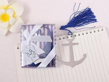 Party Souvenir navigation Theme Book Lovers Collection Anchor Bookmark Wedding Return gifts for Guest