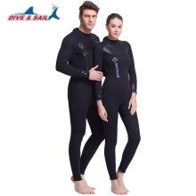 Dive&Sail 5MM Neoprene SCR Scuba Diving Wet Suit Full Body Wetsuit For Men Women Surf Snorkeling Gear Spearfishing Warm Winter
