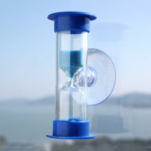 1PCS New Mini 3 Minutes Sandglass Hourglass Sand Clock Timer Ampulheta For Tooth Brushing Shower Timer Education Kids Toys(China)