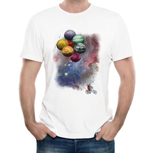 Funny Spaceman Travel T-Shirt Men's personality Astronaut travel T Shirt Summer Novelty Hipster Short Sleeve Tops Tee Homme(China)