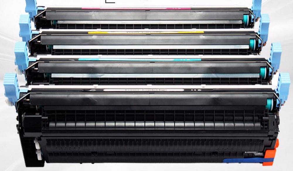 4pcs/set new compatible toner cartridge Q5950 Q5951 Q5952 5953 for HP Color LaserJet 4700dtn 4730 643A printer toner kit