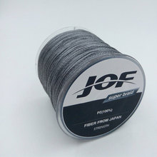 JOF The 300m 4 stands PE Braided Fly Fishing Line 4-100LB To Choice Power PE Braid Fishing WireFishing Accessories