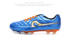2016 Soccer Cleats Shoes Men Low Top Football Cleats New Arrival Blue Football Spikes Comfortable Hot Popular Football Cleats