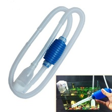 Useful Aquarium Siphon Gravel Cleaner Clean Simple Fish Tank Vacuum Water Change Pump