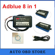 (10pcs/lot) Adblue 8 in 1 Truck diagnostic too lAdblue Emulator 8 IN 1with NOx Sensor Adblue Emulator 8in 1(China)