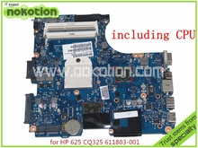 mainboard 611803-001 for HP COMPAQ CQ325 325 425 625 laptop motherboard AMD HD4200 Graphics DDR3