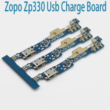 New Original usb plug charge board For ZOPO ZP330 Mobile Phone Flex Cables charging module Microphone cell phone Mini USB Port(China)