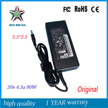 20V 4.5A 5.5*2.5mm 90W laptop Charger Original AC Adapter power supply For Lenovo G480 G485 G560 G560e G565 G570 G575 G580 G585